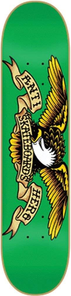 Anti Hero Classic Eagle Medium Deck 7.81 Green Skateboard Decks