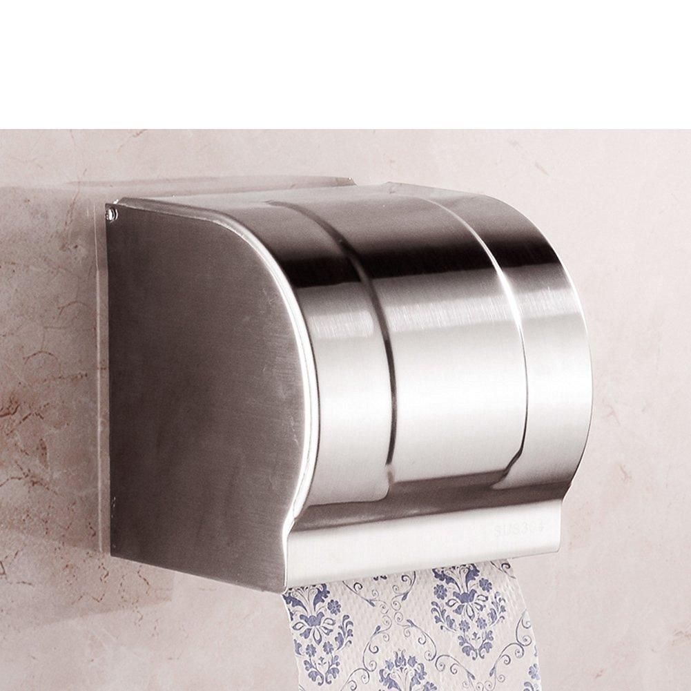 Stainless steel toilet tissue box/ toilet tissue paper holder/Box/Waterproof toilet paper box/ toilet roll holder-K