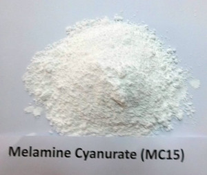 Melamine Cyanurate with good mechanical ,electrical properties.