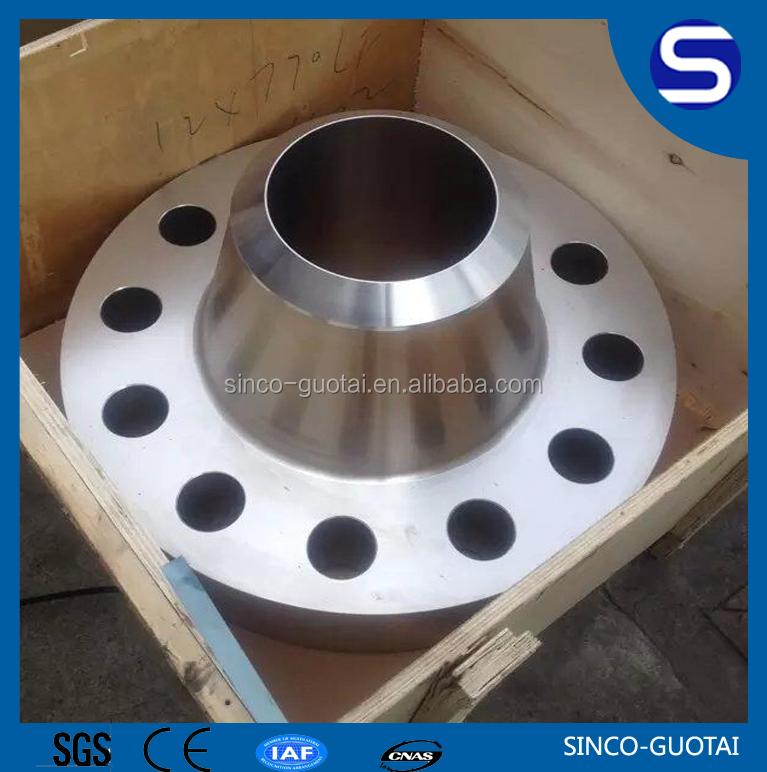 ANSI B16.5 stainless steel rfwn flange for industry