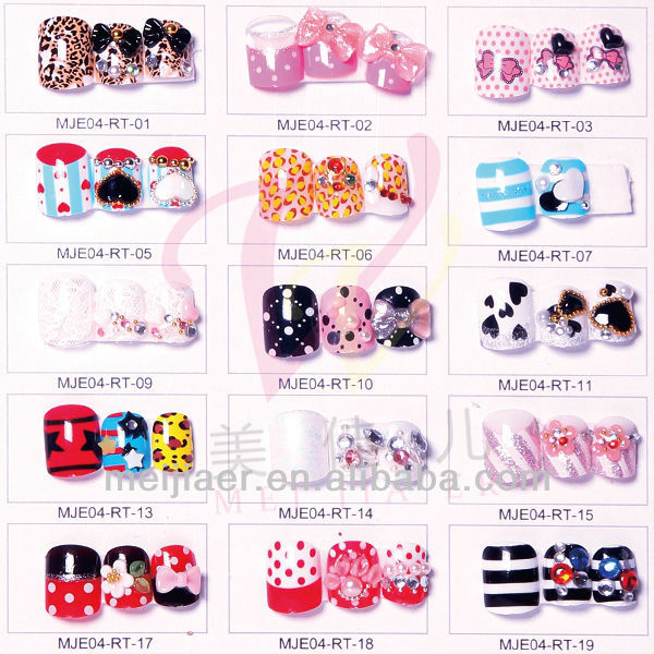 New arrive artificial fingernails designed nail art tips art nail new arrive artificial fingernails designed nail art tips art nail catalogue buy artificail nail catalogue designcatalogue design nail fashiondesigned prinsesfo Gallery