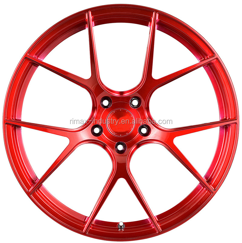 17 inch to 22 inch full customized aluminum 6061-T6  monoblock forged wheels with JWL VIA
