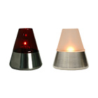 GIA Stainless Base Small Oil Table Lamp