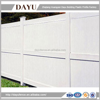 Wholesale Low Price High Quality Cheap Vinyl Privacy Fence