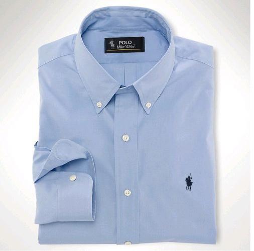 Мужчины в платье рубашка марка компактный лошадь logo топы мужские приталенный подходящий блузка длинный рукав платье мужчины рубашки размер S-XXL