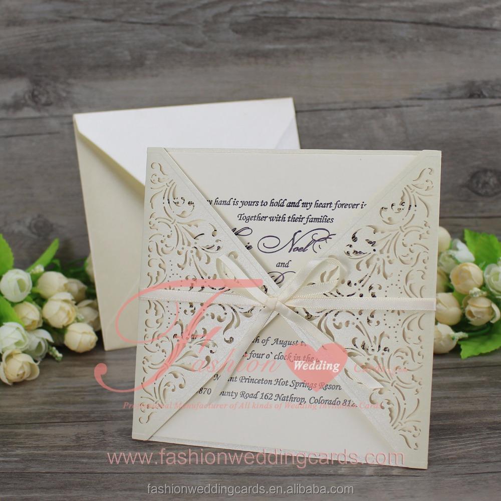 Arabic Laser Cut Wedding Invitation Cards, Arabic Laser Cut Wedding ...