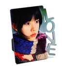 Blank wooden mdf sublimation photo picture frame with free samples