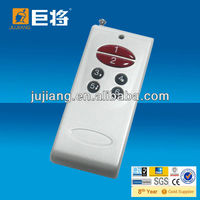 6 buttons Hight power rf fan remote control HCS301