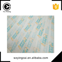 Custom printed gift color wrapping tissue paper packaging with logo