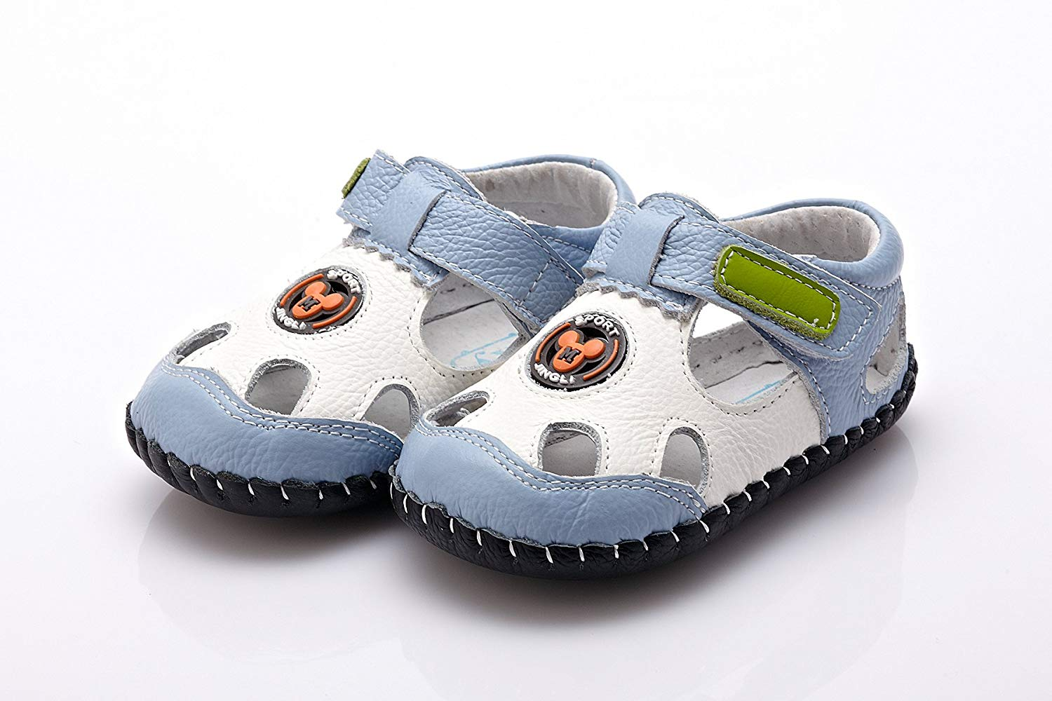 e26b669706491 YXY Baby Boys Girls Leather Shoes Summer Beautiful Soft Leather Baby Shoes  with Suede Soles –