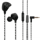 Concert Mic Earphone with Clear Sound Quality Star Singer Earbuds Match Serpentine Line Headphone