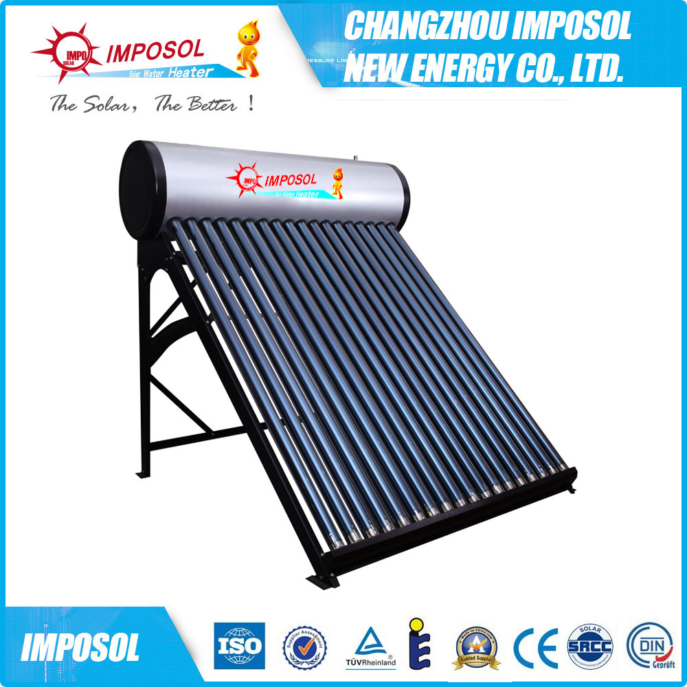 India and Mexico Vacuum Glass Tubes Solar Water Heater
