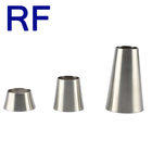 RF Sanitary Pipe Fitting Stainless Steel 304 316L Welded Concentric Reducer