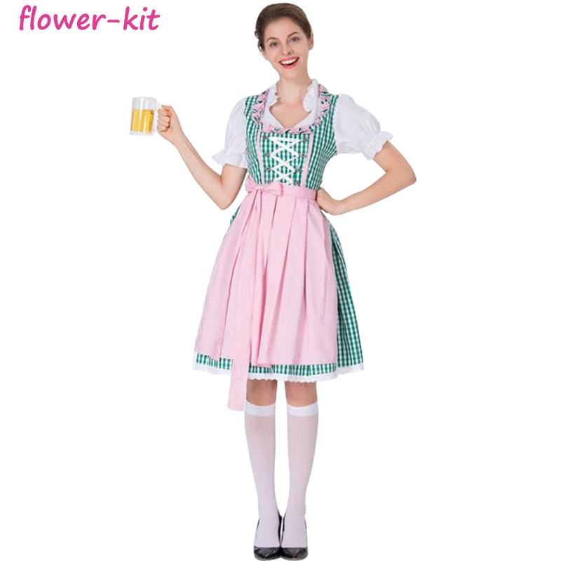 33fcfc4c7e6cd Halloween Bavarian Oktoberfest Beer Festival Maid Waiter Costume German  Beer Wench Girl Costumes Fantasia Cosplay Dress - Buy Oktoberfest Costumes  ...