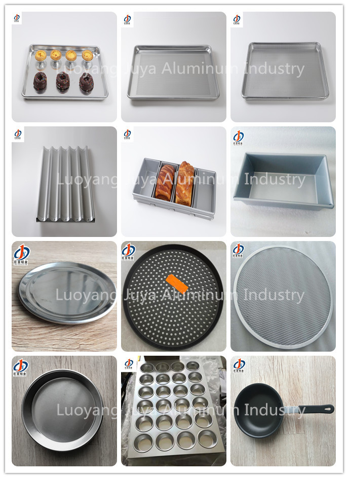 3003 16 gauge 18x26 inch 5 Slots Non-stick Coating Perforated Aluminum French Bread Baking Pan Baguette Tray