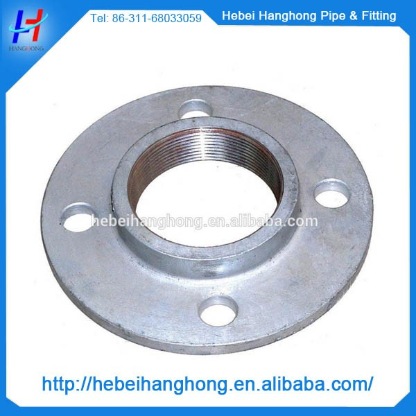 3 4 cast iron black galvanized floor flange for welding for 1 inch square floor flange