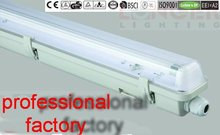 E ip65 t5 accesorios de iluminación 14 w/28 w/35 w iso9001/ce/rohs/gs /Bsci impermeable light regulador de intensidad