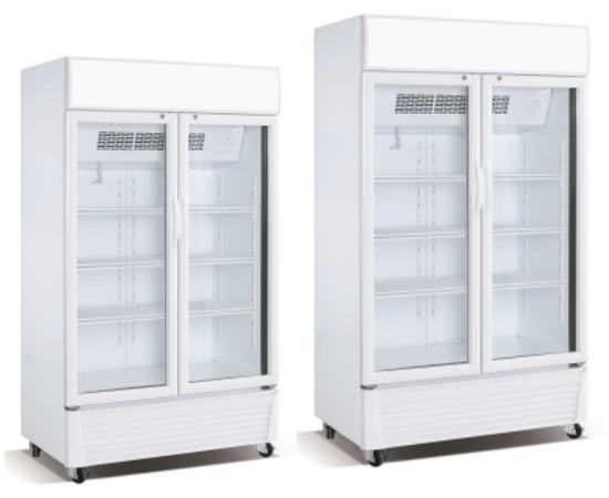 800L OEM factory Beverage ice cream Fruits and vegetable Display Cooler
