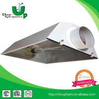 Hydroponics Reflector/Grow Light Reflector with CE,UL,ETL authorized e40 lamp holder cover shade