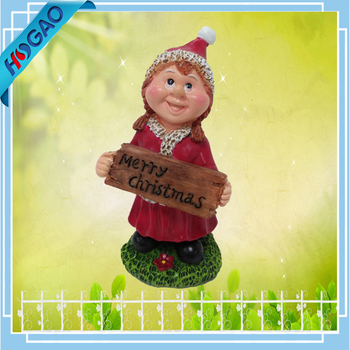 Charmant Custom Resin Funny Girl Garden Gnome Decor Indoor Figurine