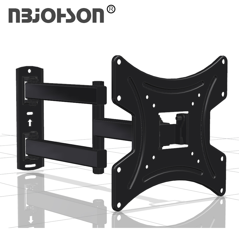 Full Motion LCD TV Wall Mount Bracket For 17 To 42 Inches