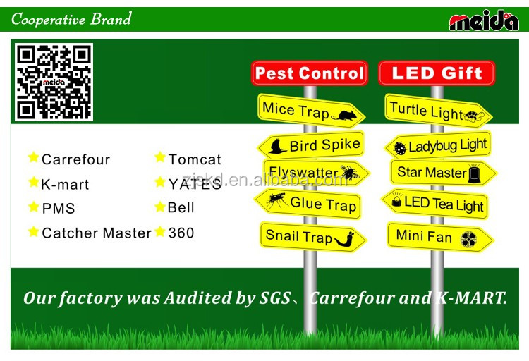 2016 Powerful Solar Battery Operated Lamp Trap Insect Killer ...