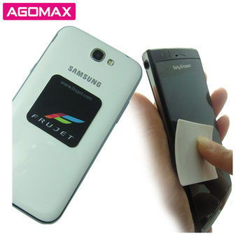 Custom made corporate gifts handy sticky screen cleaners for phones