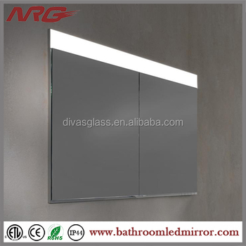 Meuble Miroir D Angle Encastre Ou Mural Pour Salle De Bain Buy