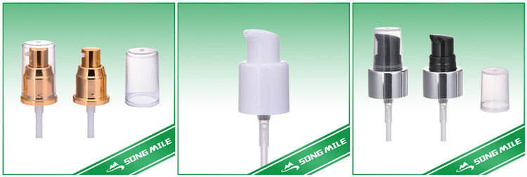 Aluminum Cosmetic Cream Pump