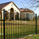 Galvanized decorative garden fencing/Wrought Iron Picket Fence