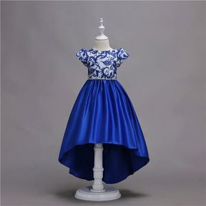 A Line Wedding Dress Kingli Blue Dress Indian Girls Fancy Dress