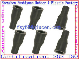 fairlead Silicone rubber grommets black rubber pvc cable grommets / silicone tail holder