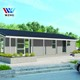 prefabricated house 100m2 , 2 /3 bedroom house plans