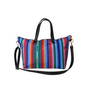 New Design Personalized Fashionable Rainbow Tote Bag