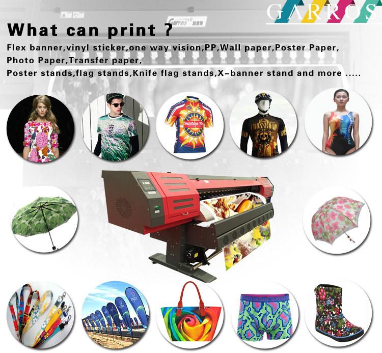 Garros digital textile sublimation printing machine sublimation ink printer