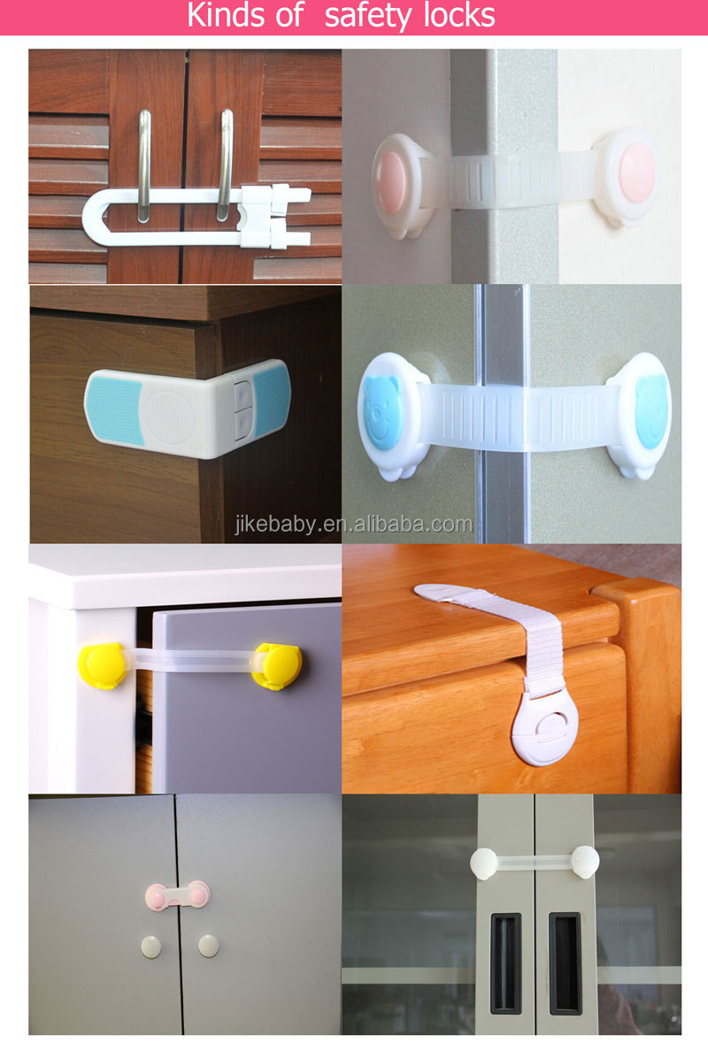 Child Safety Cabinet Door Locks Kitchen Cupboard Lock Refrigerator For Baby Protection