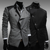 New design Wholesale checkout Casual Men Slim Fit Business Suit Long Sleeve Formal Blazers plus size Men's Suit for male