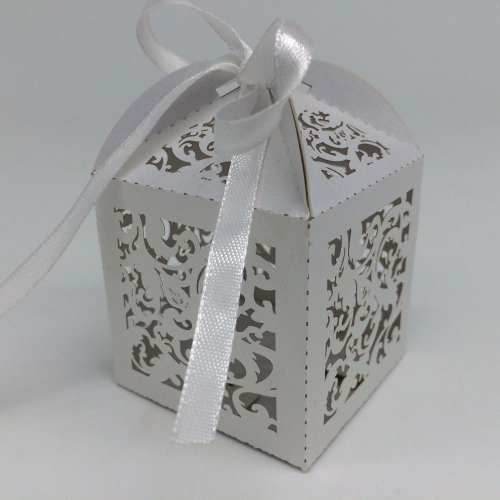 Chinese supplier laser craved decorative wedding small gift boxes chocolate box for party supply