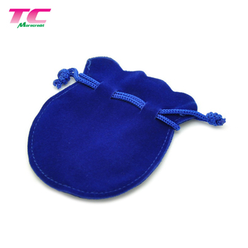 Promotional Gift Logo Printed Picrofiber Fabric Velvet Mini Jewelry Pouch Bag