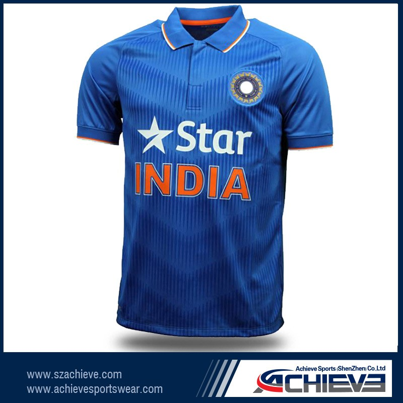 Customized Indian Cricket Jersey 18f03237f