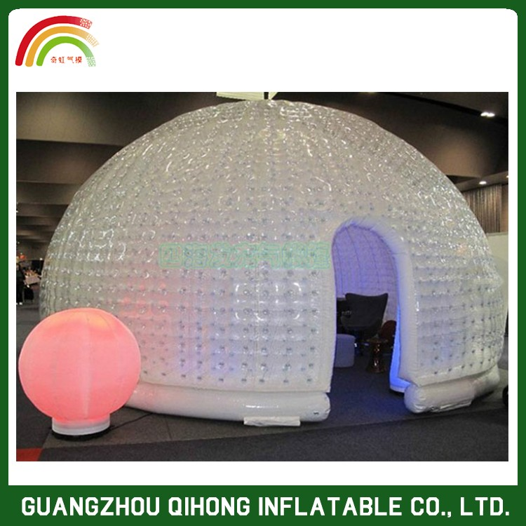 Most Popular Inflatable Igloo Marquee Dome,Inflatable Tent With Door