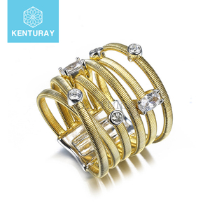 Pure Lab Created Clean Diamond Yellow Gold Ring
