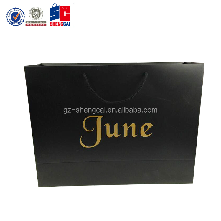 Custom bag for hair extension, cosmetic perfume gift packing bag paper