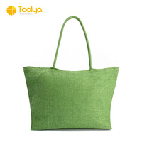Custom Straw Bag Large Capacity Women's Handbag Handmade Woven Bag One Shoulder Casual Beach Bags