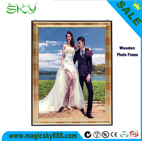 New products!!! new style wood collage photo frame/ plywood photo frame