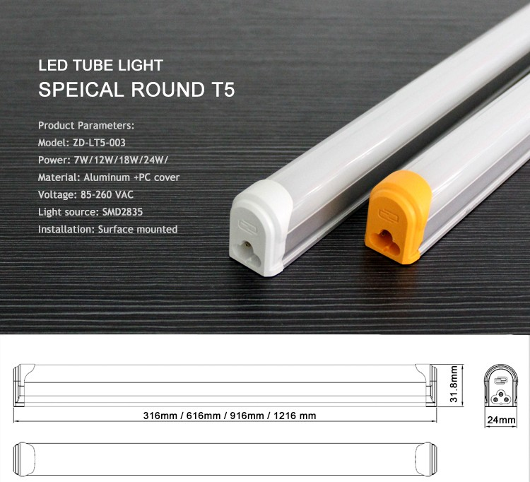 Led Light Home Isolated Driver 120 Cm Mounted 28w T5 Led ...