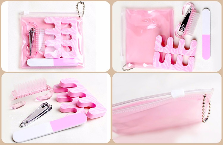 Hot Selling Disposable Manicure And Pedicure Products Kit With Low Price