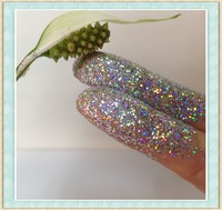 Silver White glitter powder kg for plastic products
