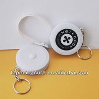 200cm/79inch abs round measuring key holder mini promotional item factory with OEM Service