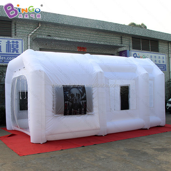 Portable Garage Car Inflatable Paint Booth Tent For Sale ...
